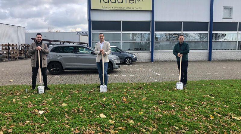 Nieuw betaalbaar glasvezelnetwerk op bedrijventerrein De Bosschen in Oud-Beijerland.